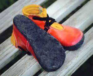 Kostrukce bot, podrážka, boty od Dareen