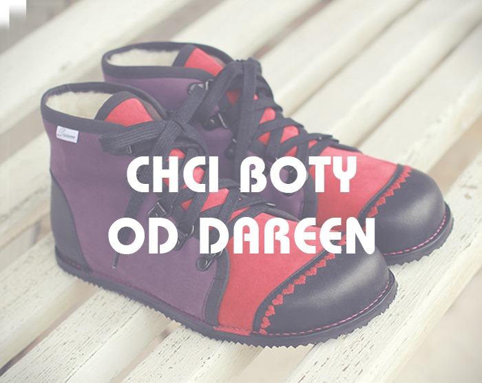 Kotníčkové boty na míru od Dareen