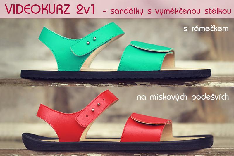 Kurz výroby sandálků